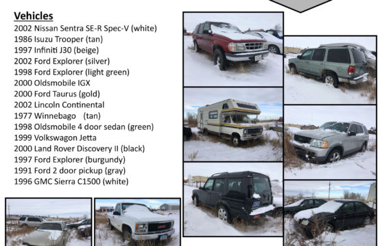 City of Crosby &#8211&#x3B; Vehicle Auction &#8211&#x3B; January 23, 2018